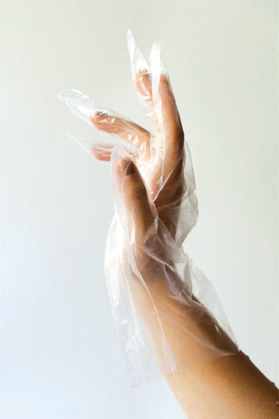دستکش نایلونی استریل و غیراستریل کالا پزشکی ترکش